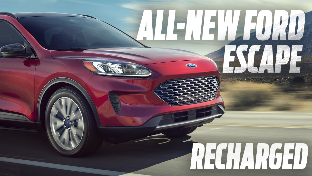 ALL-NEW FORD ESCAPE BRINGS STYLE AND SUBSTANCE TO SMALL SUVS WITH CLASS-LEADING HYBRIDS, FLEXIBILITY AND EXCLUSIVE TECHNOLOGY