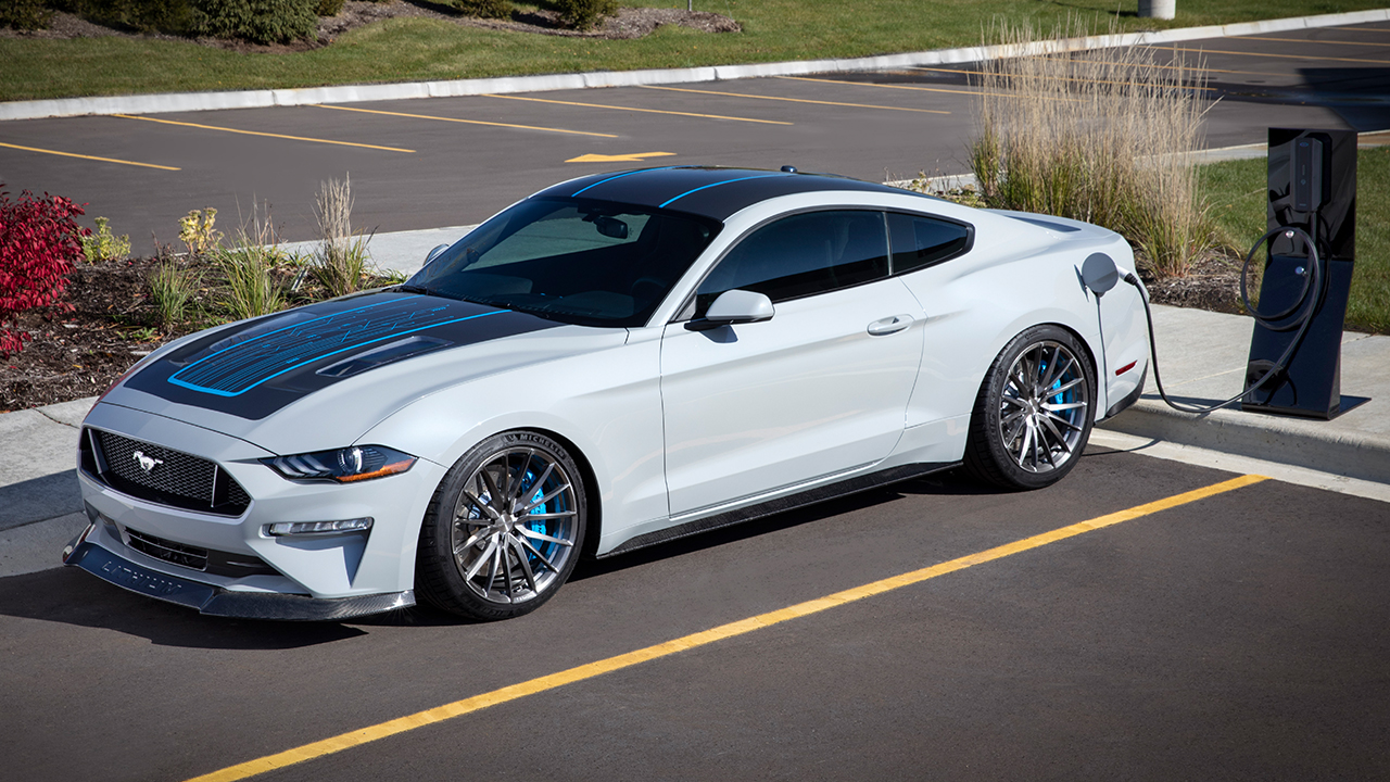 WEBASTO AND FORD TEAM UP FOR ELECTRIC MUSTANG 'LITHIUM'