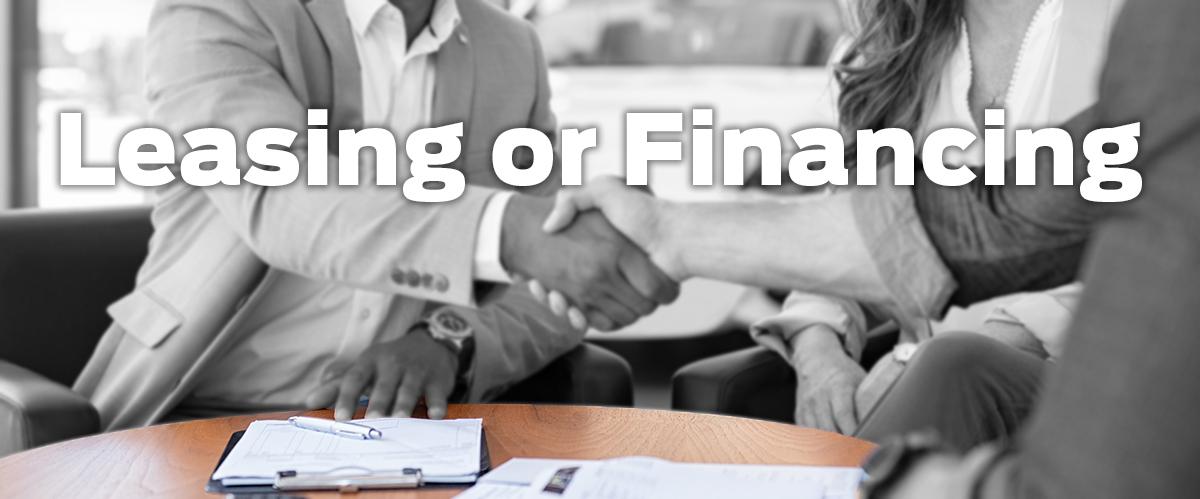 Leasing or Financing?