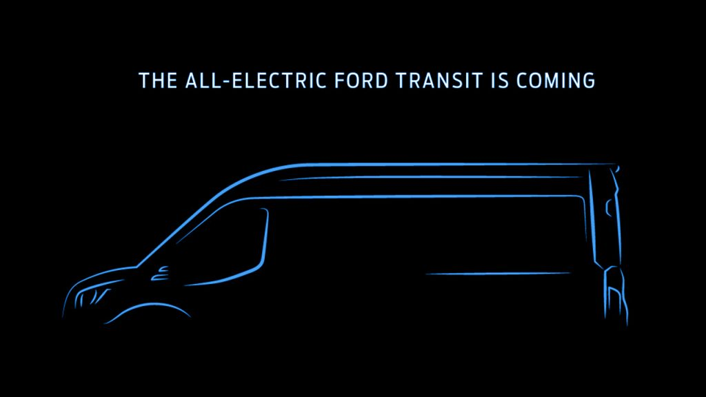 FORD TO OFFER ALL-ELECTRIC TRANSIT; U.S.-MADE, ZERO-EMISSIONS VAN TO JOIN ALL-ELECTRIC MUSTANG MACH-E AND F-150 IN LINEUP