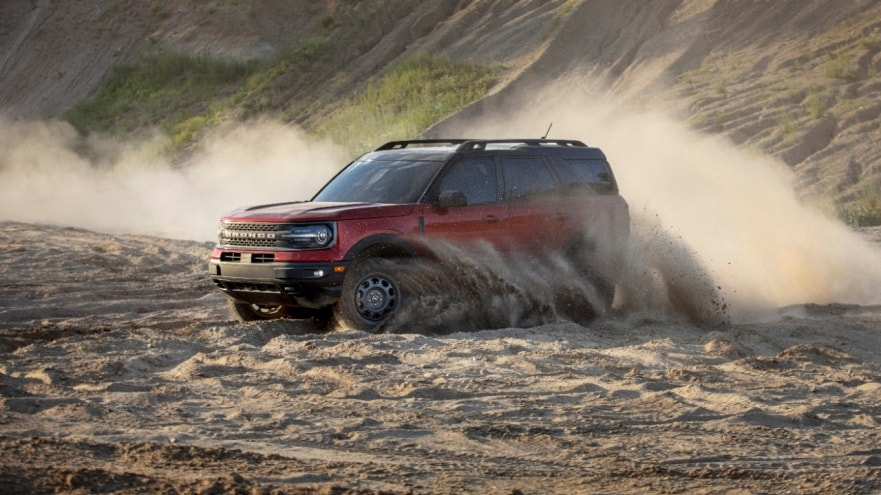 ALL-NEW FORD BRONCO SPORT RUGGED SMALL SUV EQUIPPED FOR TRAILS WITH STANDARD 4X4 AND 'BUILT WILD' CAPABILITY AND CONFIDENCE