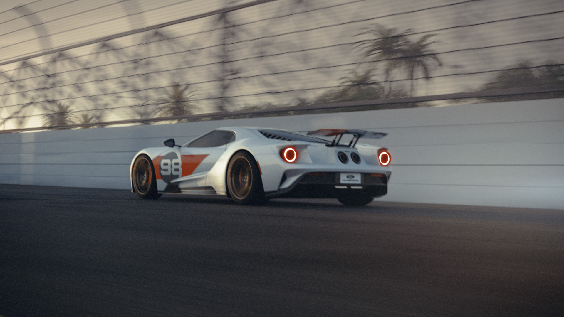 FIRST-EVER FORD GT HERITAGE EDITION TO CELEBRATE STORIED '66 DAYTONA WIN, PLUS 2021 STUDIO COLLECTION GRAPHICS PACKAGE