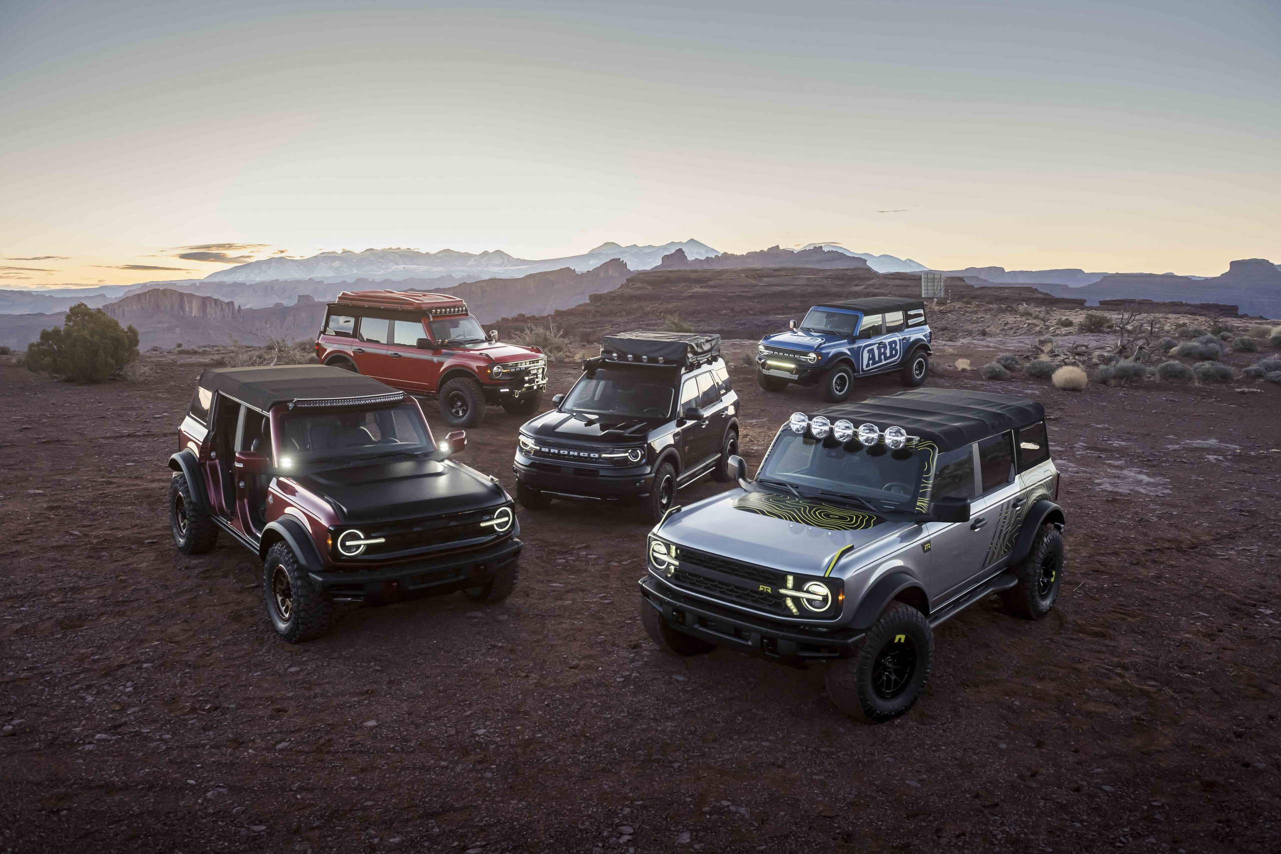 BRONCO BRAND TEAMS UP WITH RESPECTED 4X4 COMPANIES TO EXPAND AFTERMARKET PARTS AND ACCESSORY OPTIONS FOR CUSTOMERS