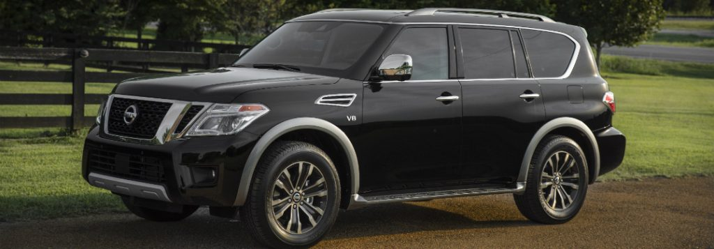 does the 2018 nissan armada have third row seating. Black Bedroom Furniture Sets. Home Design Ideas