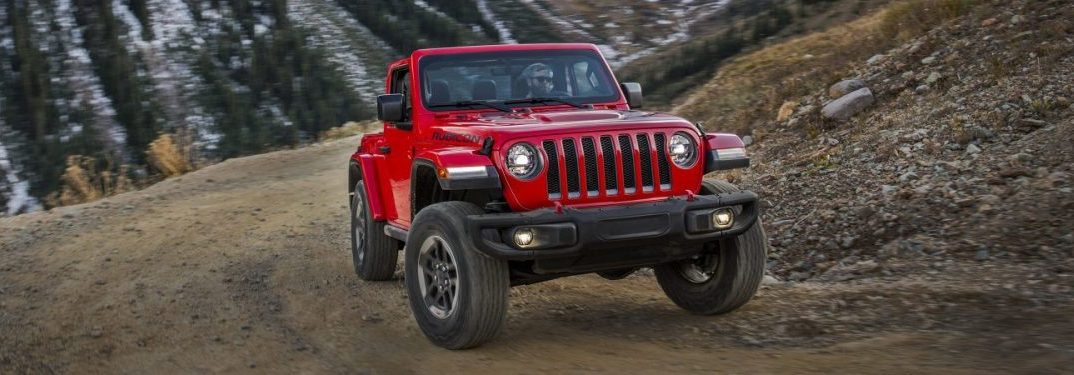 2018 Jeep Wrangler driving off road