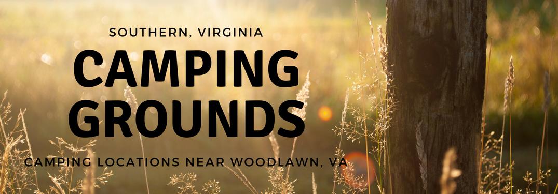 camping grounds near woodlawn va