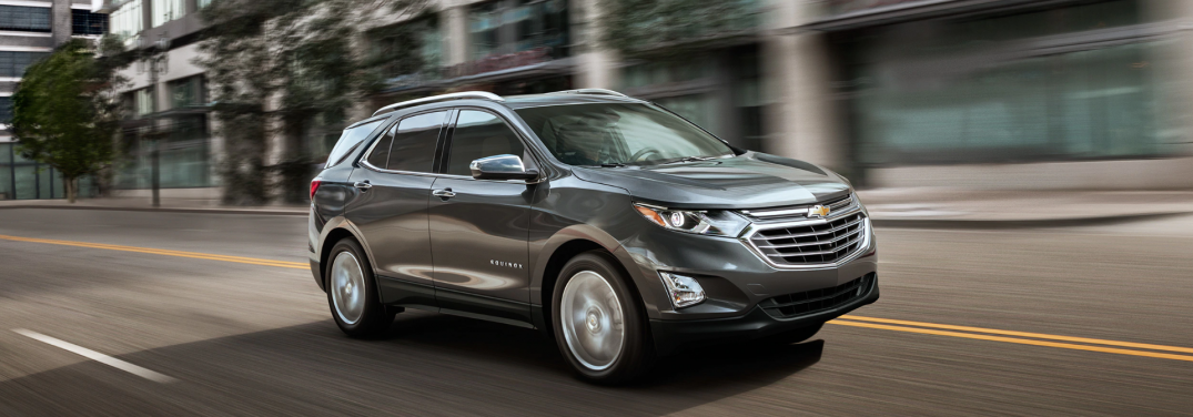 full view of the 2019 chevy equinox