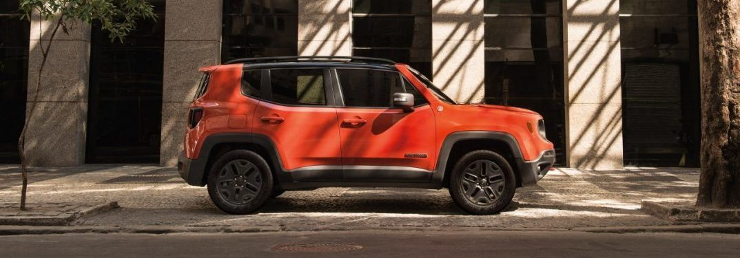 profile view of the 2018 Jeep Renegade