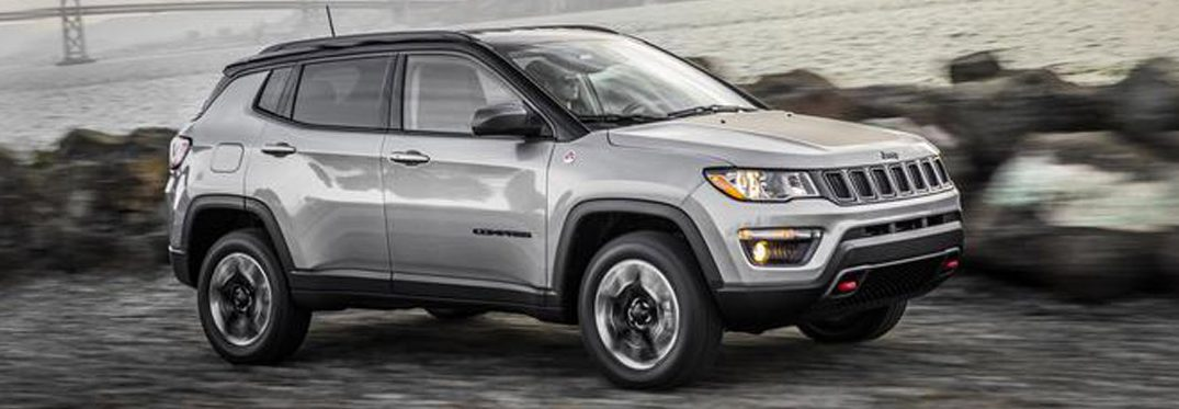 full view of the 2018 Jeep Compass