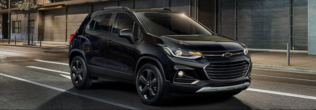 exterior view 2019 Chevy Trax