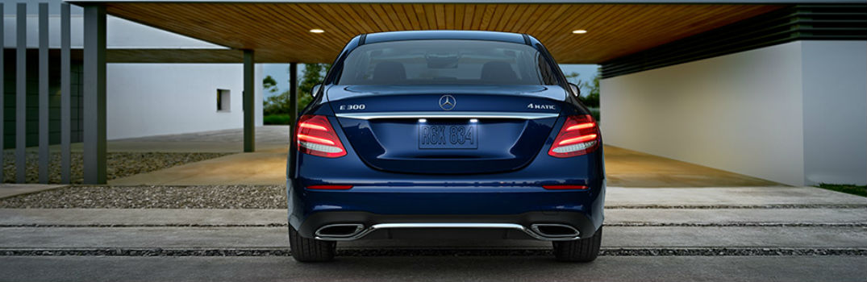 2018 Mercedes-Benz E 300 rear exterior profile