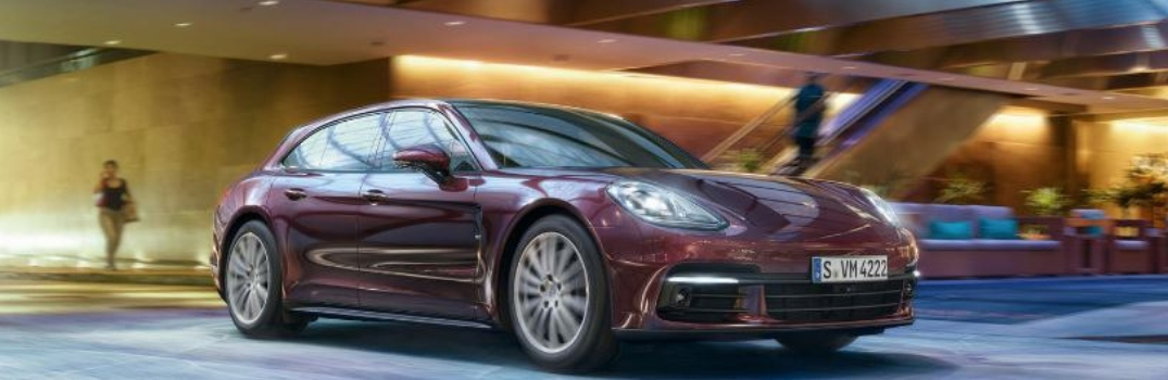2019 Porsche Panamera parked outside