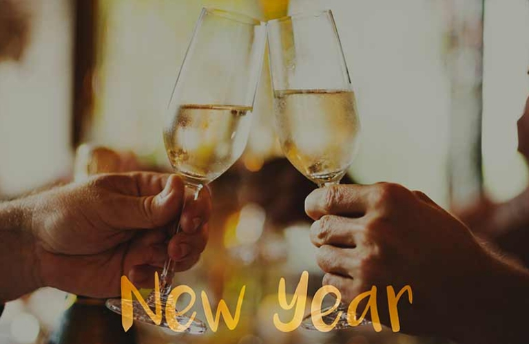 Toasting to the New Year's!