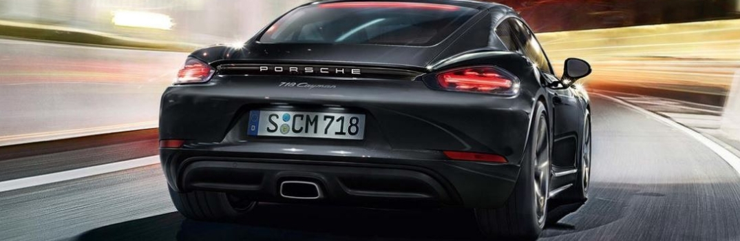 What Safety Features are on the 2019 Porsche 718 Cayman?