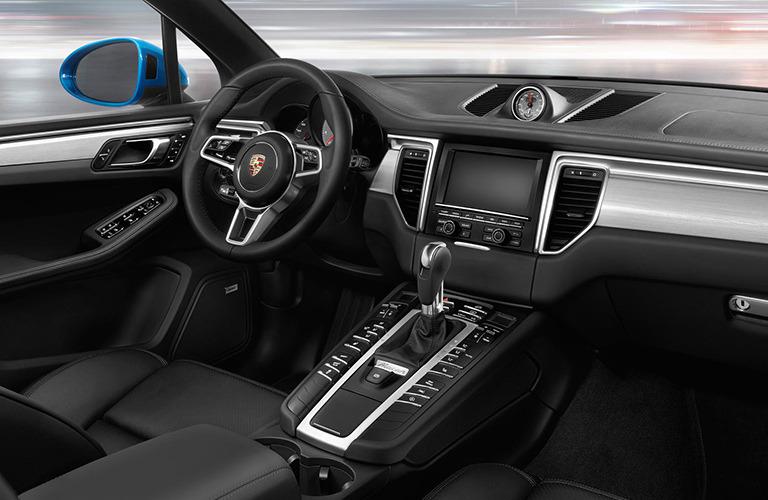 2019 Porsche Macan interior dash