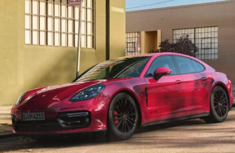 2019 Porsche Panamera parked outside