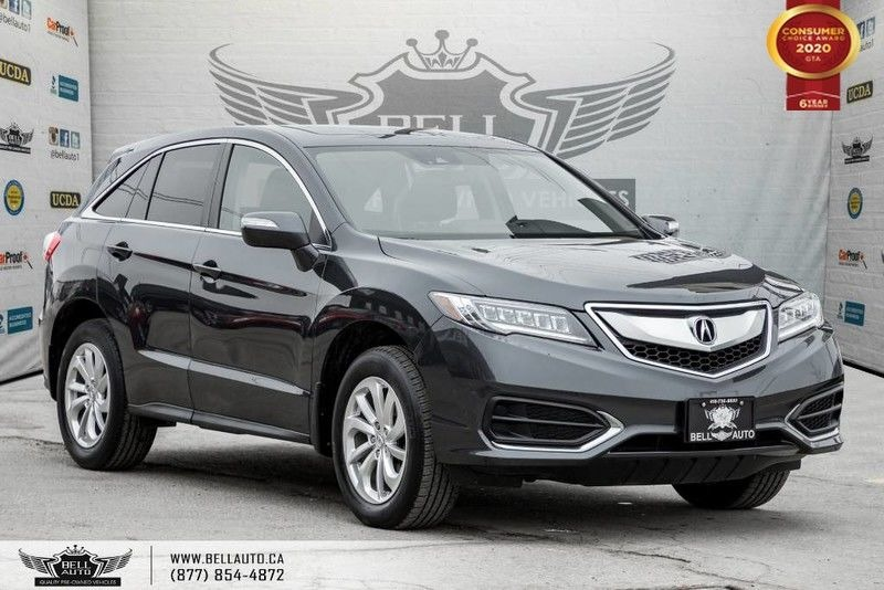 Exterior view of a black 2016 Acura RDX in the Bell Auto Inc showroom