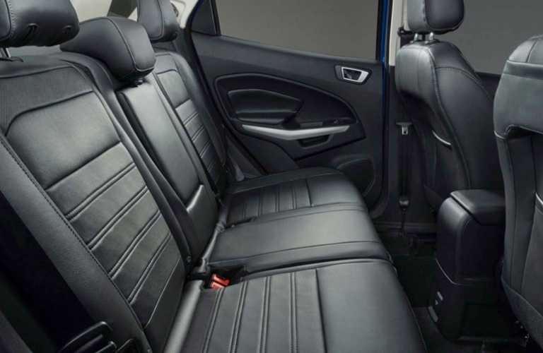 2018 Ford EcoSport seat view