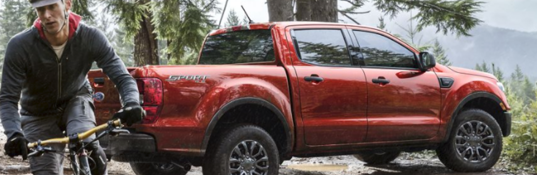 2019 Ford Ranger parked outside