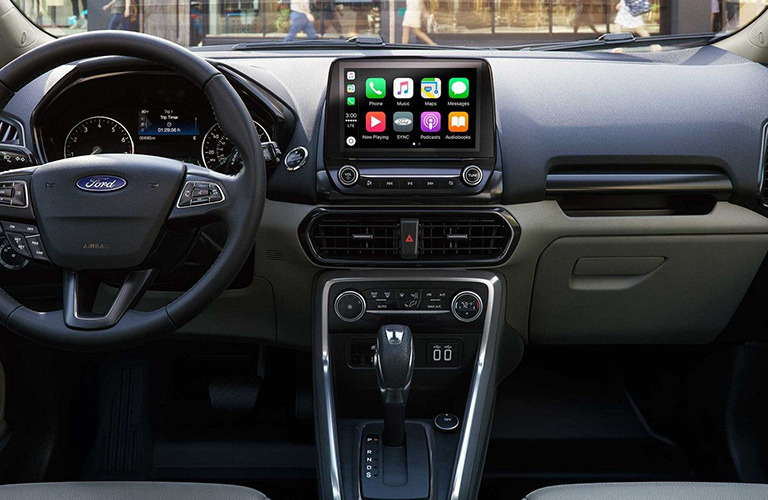 2019 Ford EcoSport dash view