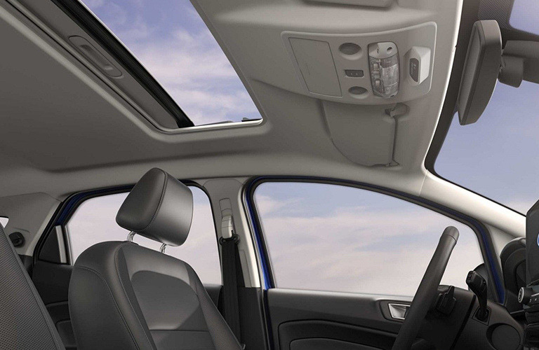 2019 Ford EcoSport interior front view