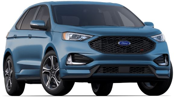 2019 Ford Edge Ford Performance Blue