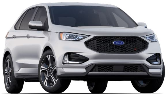 2019 Ford Edge Ignot silver