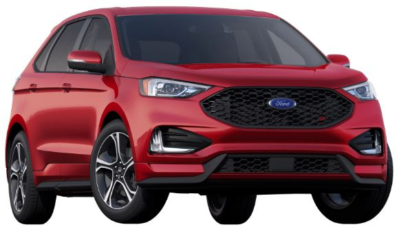 2019 Ford Edge Ruby Red Premium
