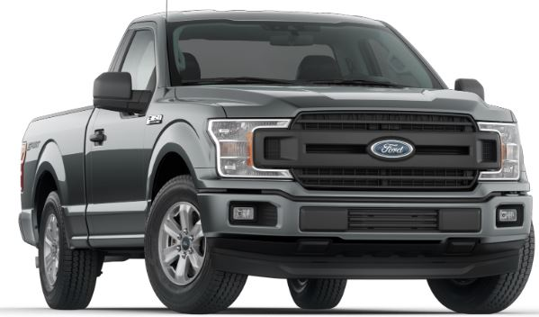 2019 Ford F-150 Abyss Gray