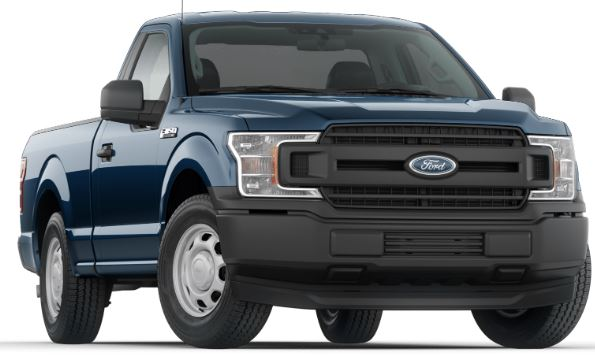 2019 Ford F-150 Blue Jeans