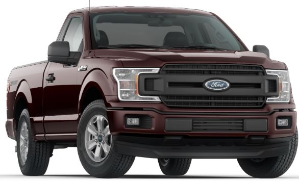 2019 Ford F-150 Magma Red