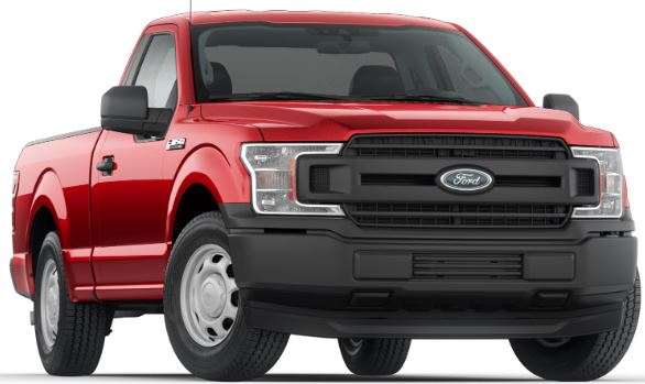 2019 Ford F-150 Race Red