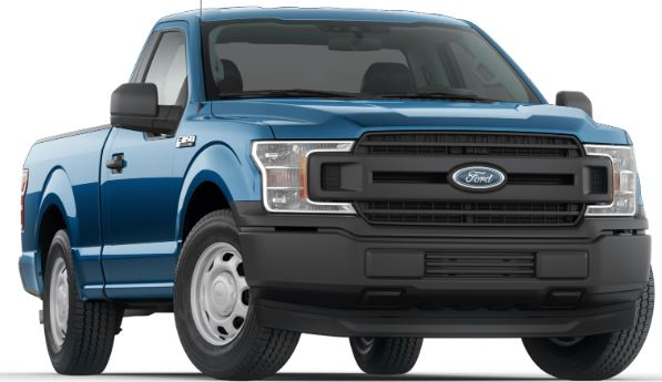 2019 Ford F-150 Velocity Blue