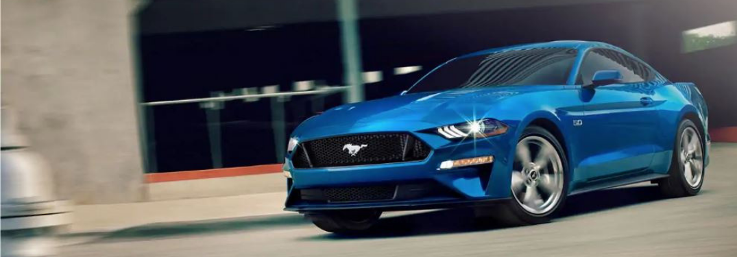 Color Options of the new 2019 Ford Mustang