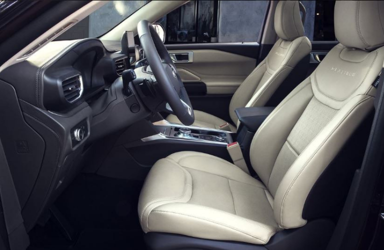 2020 Ford Explorer Interior seat view side