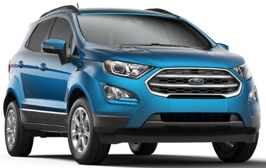 2019 Ford EcoSport Blue Candy