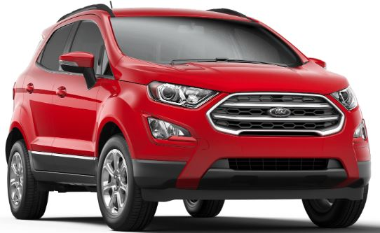 2019 Ford EcoSport Race Red