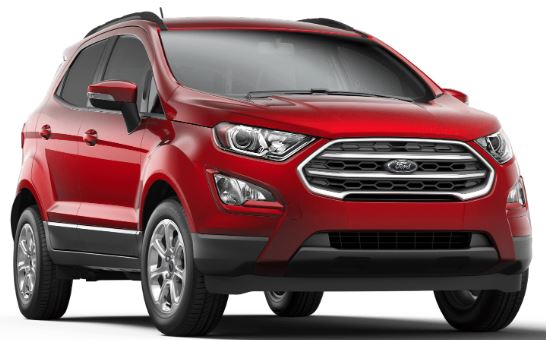 2019 Ford EcoSport Ruby Red