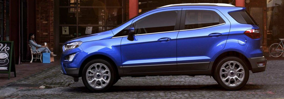 What Exterior Color Options are on the 2019 Ford EcoSport?