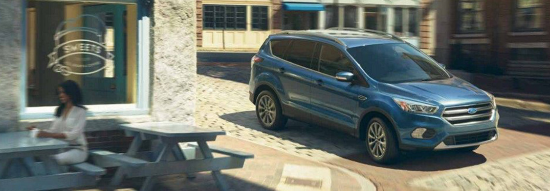 2019 Ford Escape parked outside in a lot