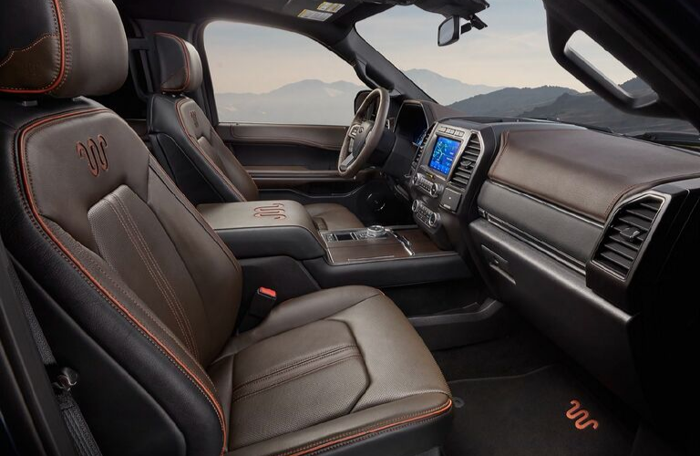 2020 Ford Expedition dash and front interior