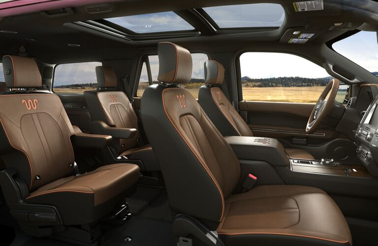2020 Ford Expedition Interior view