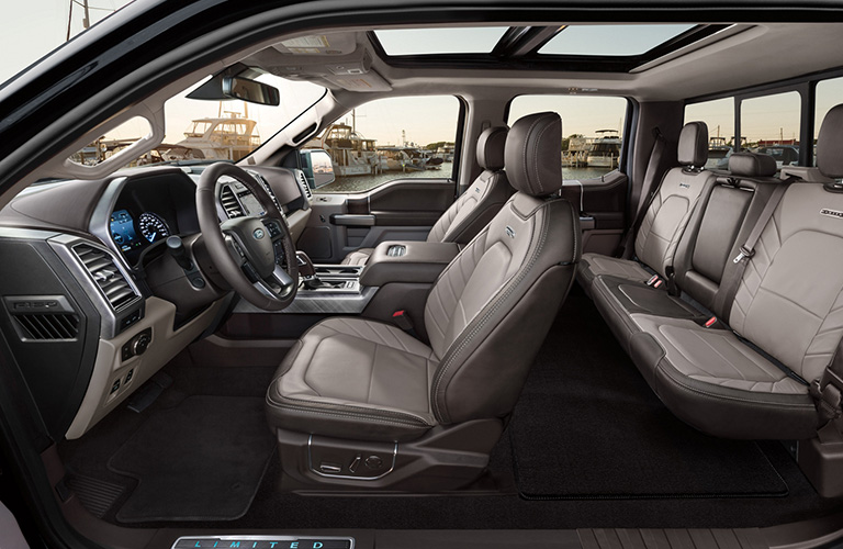 2020 Ford F-150 interior side view
