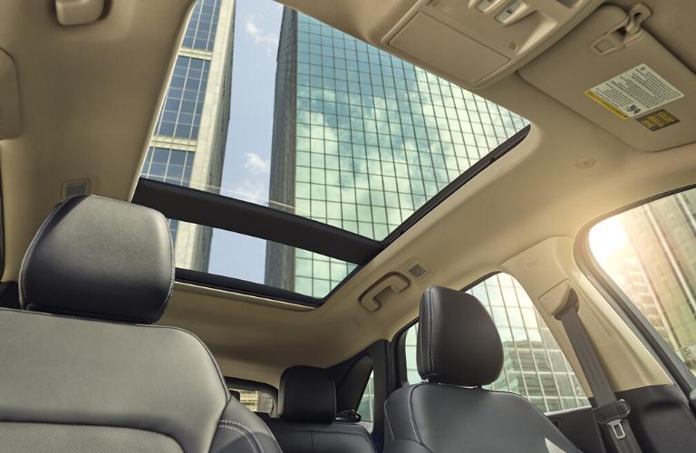 2020 Ford Escape sunroof view
