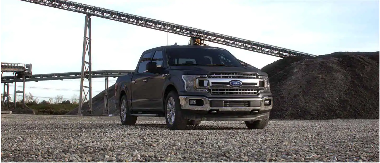 2020 Ford F-150 Abyss Gray