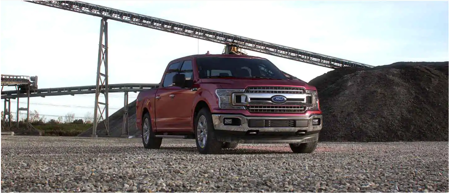 2020 Ford F-150 Rapid Red
