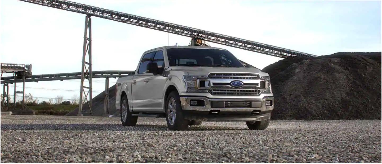 2020 Ford F-150 Star White