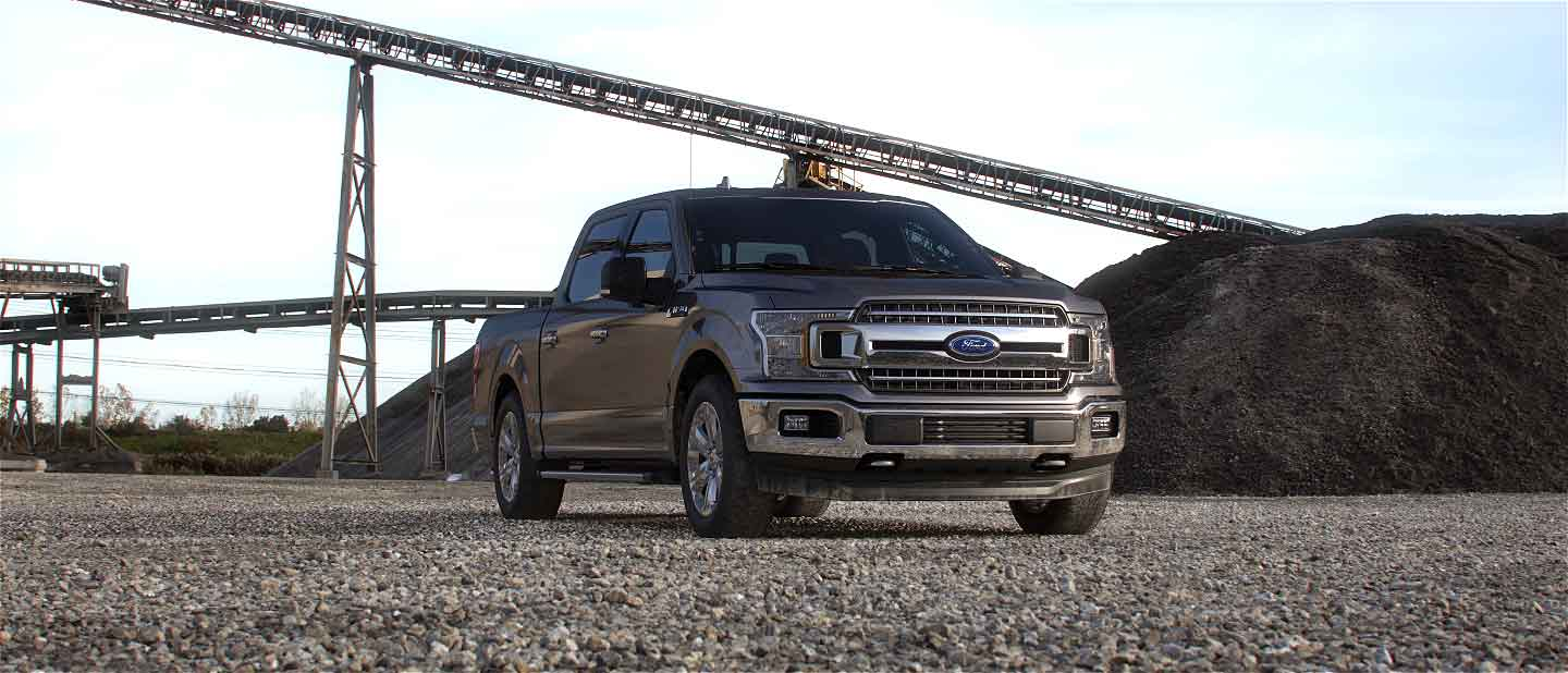 2020 Ford F-150 Stone Gray