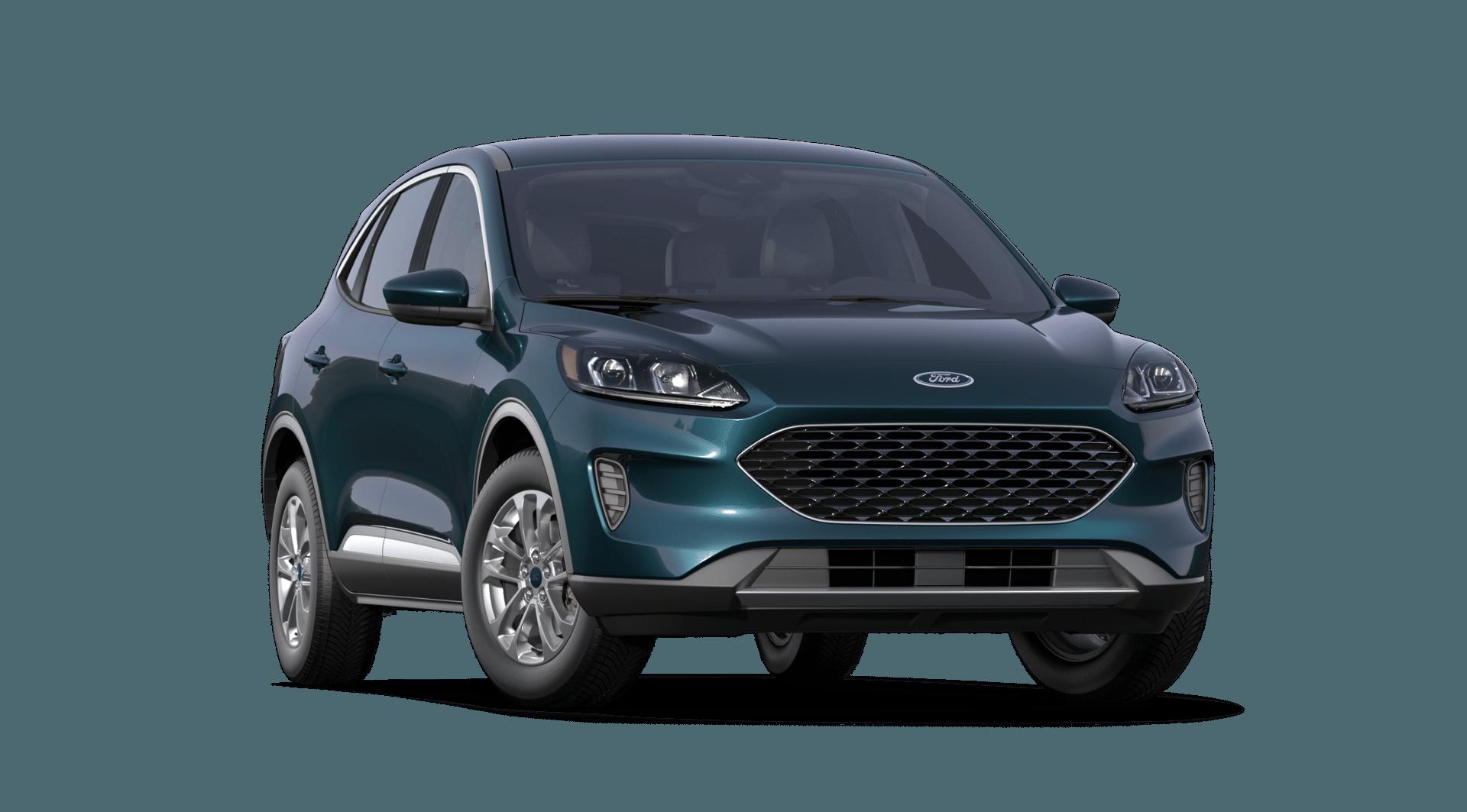 2020 Ford Escape Dark Persian Green