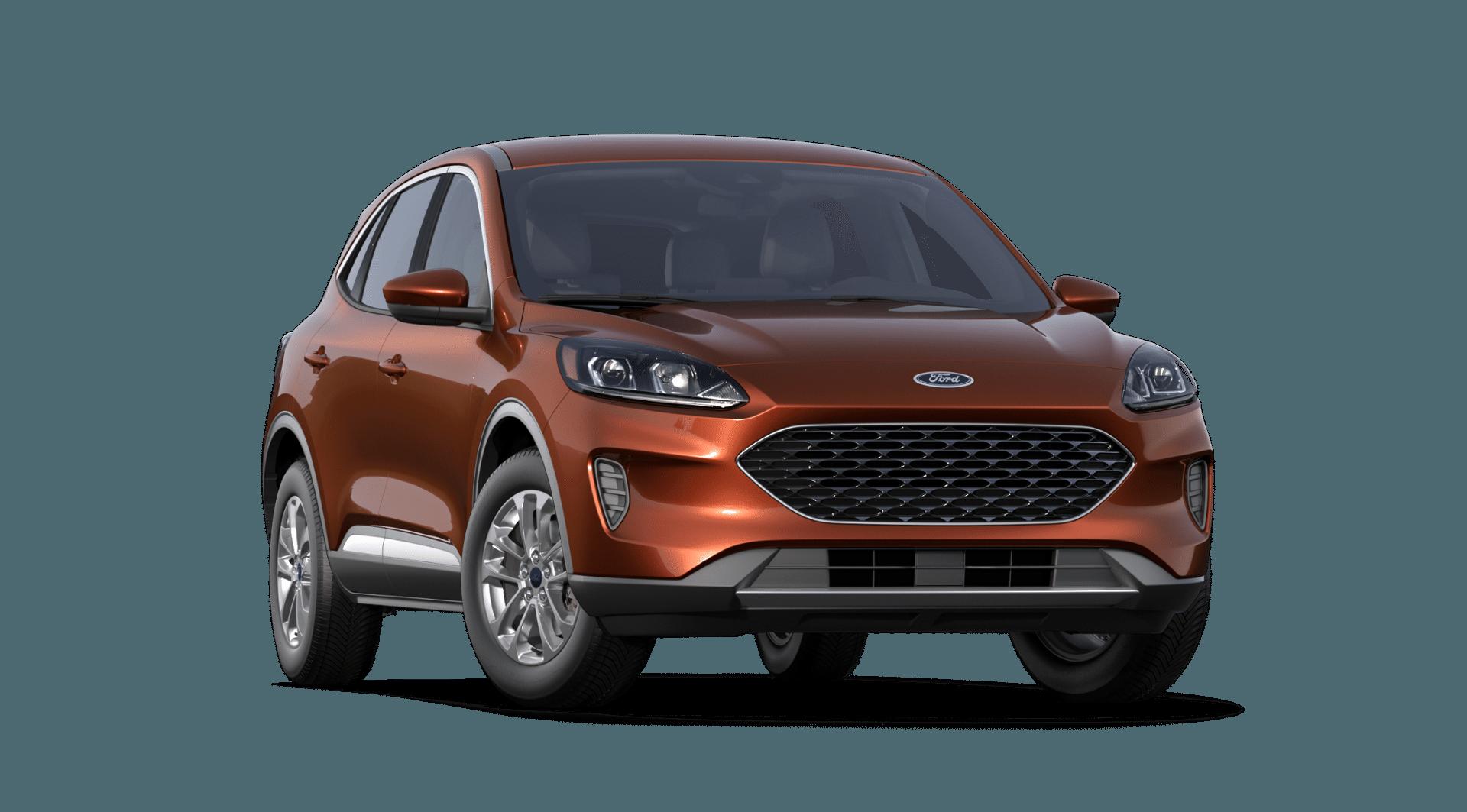 2020 Ford Escape Sedona Orange